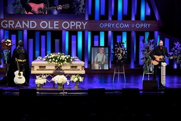 Trace Adkins Celebration of Life for Troy Gentry