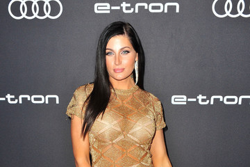 Trace Lysette Audi Celebrates The 70th Emmys - Arrivals