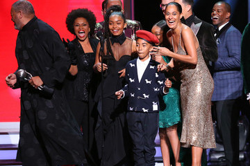 Tracee Ellis Ross Miles Brown 49th NAACP Image Awards - Show
