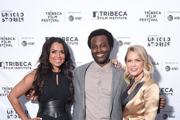 Tracey Edmonds 2018 Tribeca Film Festival After-Party For 'Nigerian Prince,' Hosted By AT&T At Magic Hour Rooftop Bar & Lounge