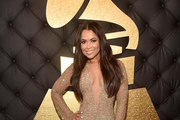 Tracey Edmonds The 59th GRAMMY Awards -  Red Carpet