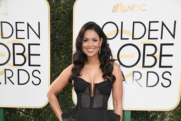 Tracey Edmonds 74th Annual Golden Globe Awards - Arrivals