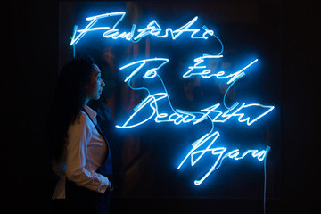 Tracey Emin Sotheby's Contemporary Art Exhibition Press Preview