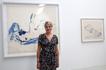 Tracey Emin Tracey Emin Unveils Her New Exhibition At The Turner Contemporary In Margate
