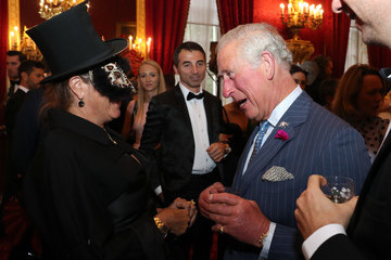 Tracey Emin The Prince Of Wales And The Duchess Of Cornwall Host Reception For The Elephant Family Animal Ball