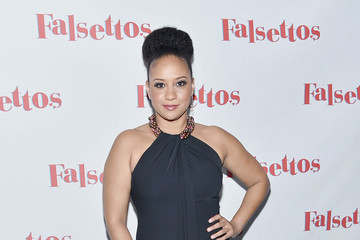 Tracie Thoms 'Falsettos' Opening Night - Press Room