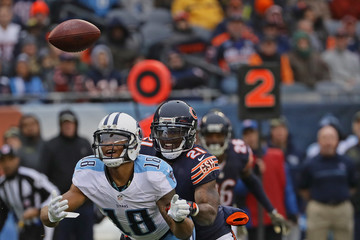 Tracy Porter Tennessee Titans v Chicago Bears