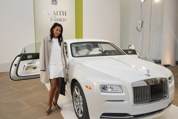 """Tracy Reese Fashion Icon Olivia Palermo Receives a First Look at Rolls-Royce Motor Cars' Latest Design Creation, Wraith """"Inspired by Fashion"""" During The Global Debut Of The Stunning New Motor Car At An Exclusive Event In The Heart Of New York City"""