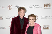 Barry Manilow and Lorna Luft attend the Transformative Medicine of USC: Rebels with a Cause GALA at  on October 24, 2019 in Santa Monica, California.