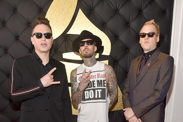 Travis Barker The 59th GRAMMY Awards -  Red Carpet