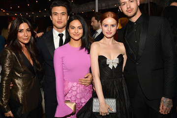 Travis Mills Madelaine Petsch 2018 GQ Men Of The Year Party - Inside