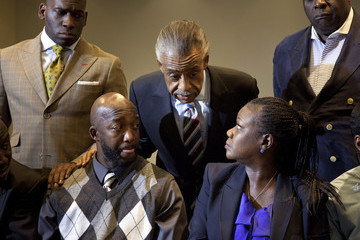Al Sharpton Sybrina Fulton Trayvon Martin's Parents React To Charges Against George Zimmerman