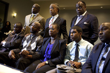 W. Franklyn Richardson Jahvaris Fulton Trayvon Martin's Parents React To Charges Against George Zimmerman