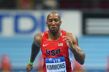 Trell Kimmons IAAF World Indoor Championships: Day 1