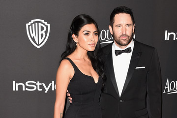 Trent Reznor InStyle And Warner Bros. Golden Globes Party — Part 2