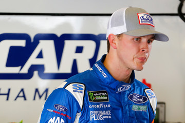 Trevor Bayne Daytona International Speedway - Day 2