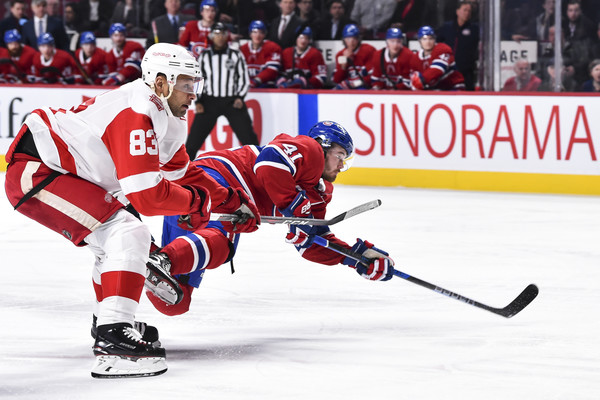 Detroit Red WIngs v Montreal Canadiens