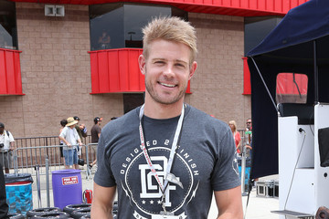 Trevor Donovan Inside the California Speedway in Fontana