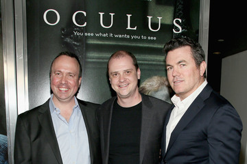 "Trevor Macy Screening Of Relativity Media's ""Oculus"" - Red Carpet"