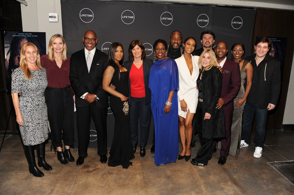 The Cast and Producers From Lifetime's Film 'Faith Under Fire: The Antoinette Tuff Story' Attend the Red Carpet Screening