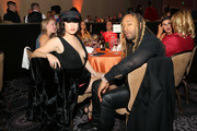 Lauren Jauregui (L) and Ty Dolla Sign attend the Trevor Project's TrevorLIVE LA 2018 at The Beverly Hilton Hotel on December 3, 2018 in Beverly Hills, California.