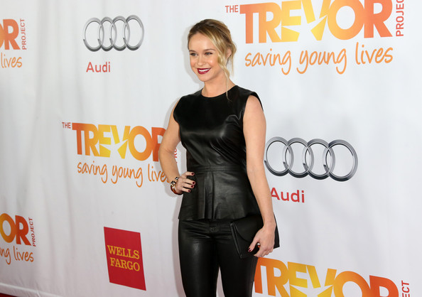 Actress Becca Tobin attends 'TrevorLIVE LA' honoring Jane Lynch and Toyota for the Trevor Project at Hollywood Palladium on December 8, 2013 in Hollywood, California.