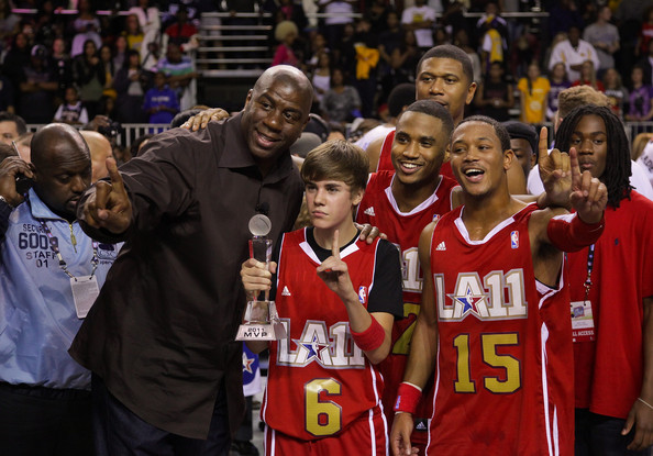 NBA All Star Celebrity Game highlights - YouTube
