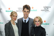 (L-R) Jess Weixler, Jay Gammill and Tippi Hedren attends Tribeca Film Festival 2012 After-Party For Free Samples, Hosted by Heineken on April 21, 2012 in New York City.