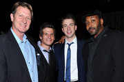 Brett Cullen, Mark Kassen, Chris Evans and Jesse L. Martin attend the Tribeca Film Festival after-party for Puncture hosted by (Red) at 1OAK on April 21, 2011 in New York City.