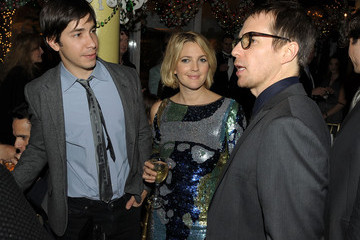 """Drew Barrymore Justin Long Tribeca Film Institute Benefit Screening Of """"Everybody's Fine"""" - Party"""