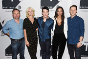 (L-R) Executive producer Danny Cannon, Erin Richards, Robin Lord Taylor, Jessica Lucas and Ben McKenzie attend the Tribeca TV Festival sneak peek of Gotham at Cinepolis Chelsea on September 23, 2017 in New York City.