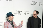 """Actor and voice of multiple characters Harry Shearer (L) and Executive Producer Matt Selman attend """"Tribeca TV: The Simpsons 30th Anniversary"""" during the 2019 Tribeca Film Festival at BMCC Tribeca PAC on April 28, 2019 in New York City."""