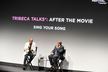"""Tavis Smiley Tribeca Talk After The Movie """"Sing Your Song"""" At The 2011 Tribeca Film Festival"""