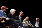 Bob Balaban, Olympia Dukakis, Denis O'Hare, George Morfogen and Wallace Shawn speak on stage at the Tribeca Talks After The Movie: Starring Austin Pendleton at SVA Theatre 2 on April 21, 2016 in New York City.