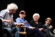 Director Austin Pendleton, Bob Balaban, Actress Olympia Dukakis and Denis O'Hare speak on stage durin the Tribeca Talks After The Movie: Starring Austin Pendleton at SVA Theatre 2 on April 21, 2016 in New York City.