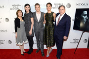(L-R) Michelle King, Julianna Margulies, Matt Czuchry, Cush Jumbo and Robert King attend the Tribeca Tune In: The Good Wife at BMCC John Zuccotti Theater on April 17, 2016 in New York City.