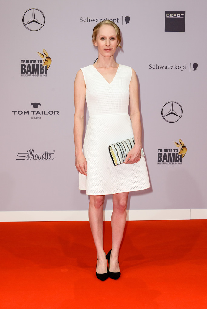 susanne wuest in arrivals at the tribute to bambi zimbio. Black Bedroom Furniture Sets. Home Design Ideas