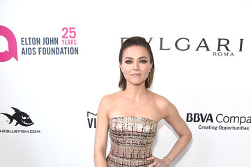 Trieste Kelly Dunn 26th Annual Elton John AIDS Foundation Academy Awards Viewing Party sponsored by Bulgari, celebrating EJAF and the 90th Academy Awards - Red Carpet