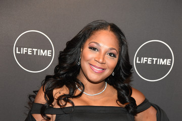 Trina Braxton The Cast and Producers From Lifetime's Film 'Faith Under Fire: The Antoinette Tuff Story' Attend the Red Carpet Screening