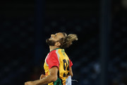 PORT OF SPAIN, TRINIDAD AND TOBAGO:  In this handout image provided by CPL T20, Imran Tahir of Guyana Amazon Warriors reacts to a dropped catch during the Hero Caribbean Premier League match between Trinbago Knight Riders and Guyana Amazon Warriors at Queen's Park Oval on September 5, 2018 in Port of Spain, Trinidad And Tobago.