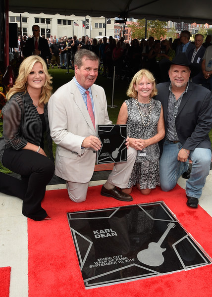 Garth Brooks and Trisha Yearwood Are Inducted into the Nashville Walk of Fame