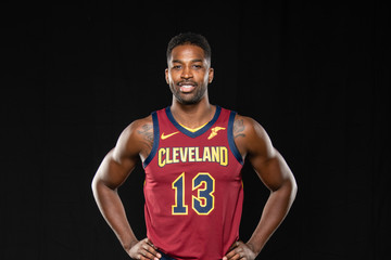 Tristan Thompson Cleveland Cavaliers Media Day