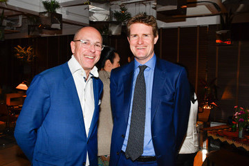 Tristram Hunt British Fashion Council Party In Hong Kong