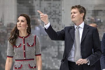 Tristram Hunt The Duchess Of Cambridge Visits The New V&A Exhibition Road Quarter