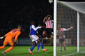 Troy Brown Exeter City vs. Ipswich Town - Carabao Cup First Round