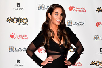 Tulisa Contostavlos MOBO Awards - Red Carpet Arrivals