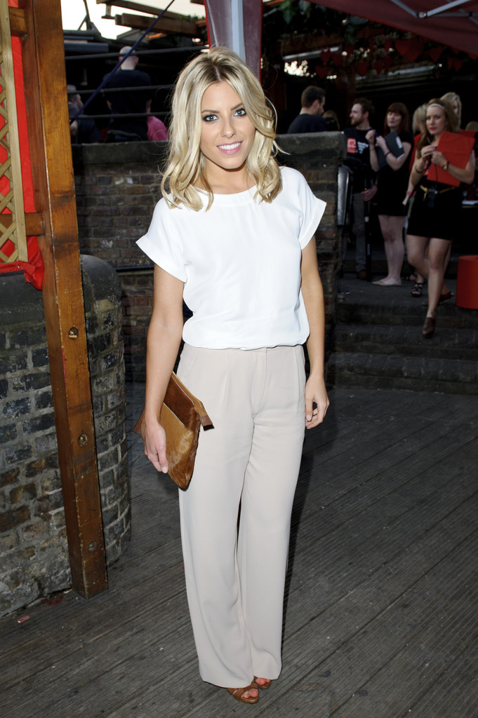 Mollie+King in The British Heart Foundation Party in London