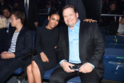 Andy Richter (R) attends during Turner Upfront 2016 show at The Theater at Madison Square Garden on May 18, 2016 in New York City.