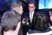 Kevin Reilly, President, TBS & TNT and Chief Creative Officer, Turner Entertainment speaks during the Turner Upfront 2018 show at The Theater at Madison Square Garden on May 16, 2018 in New York City. 376296