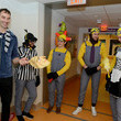Tuuka Rask Boston Bruins Bring Halloween Laughter and Cheer to Boston Children's Hospital Patients
